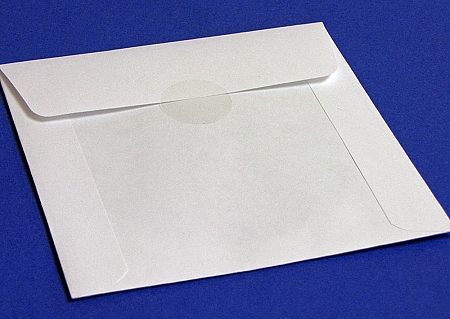 Clear round sleeve seals