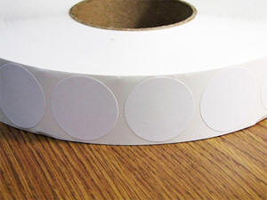 2 inch white paper mailing seals
